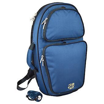 26FGH Tom y voluntad acolchado Bolsa de cuerno Flugel - azul
