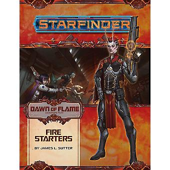Starfinder Adventure Path Fire Starters Dawn of Flame 1 of 6 Book