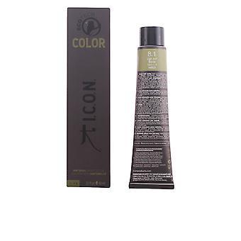 I.c.o.n. Ecotech väri luonnollinen väri #8.1 vaalean tuhkan vaaleat 60 Ml Unisex