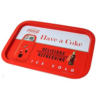 Coke Tin Serving Tray