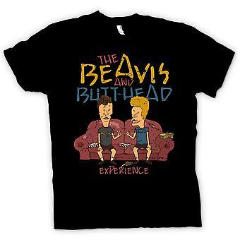 Mens टी शर्ट-Beavis और Butthead अनुभव-अजीब बात है