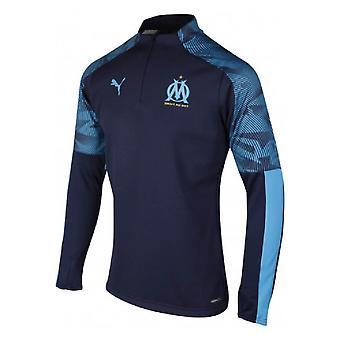2019-2020 Marseille Quarter Zip Training Top (Peacot)