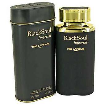 Black Soul Imperial By Ted Lapidus Eau De Toilette Spray 3.33 Oz (men) V728-492172
