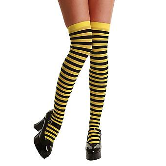 Wicked Candystripe Thigh Highs