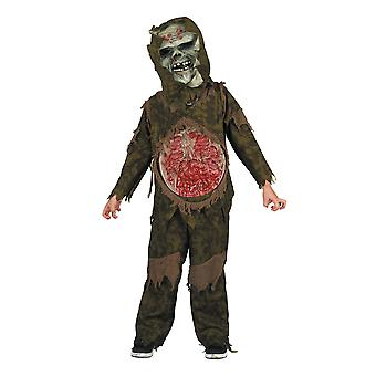 Bristol Novelty Childrens/Boys Demon And Mask Costume