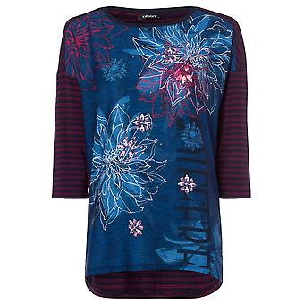 Olsen Olsen Azul Navy T-Shirt 11103366