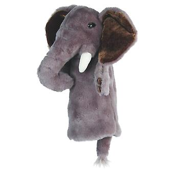 Hand Puppet - CarPets Glove - Elephant Soft Doll Plush PC008011
