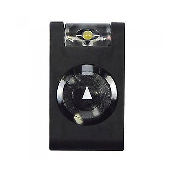 Mighty Bright LED Utility Light Rubber Clip On  Keyring Safety Light Black