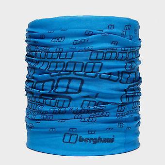 Nieuw Berghaus logo patroon Unisex nek gaiter licht blauw
