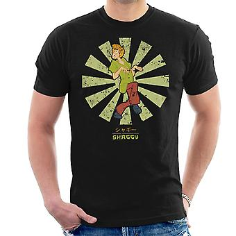 Shaggy Retro Japanese Scooby Doo Men's T-Shirt