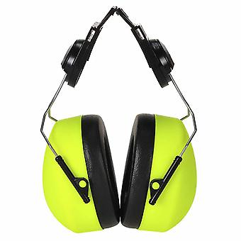 Portwest - Clip-on HV Ear Protector Defenders Muffs Yellow Regular