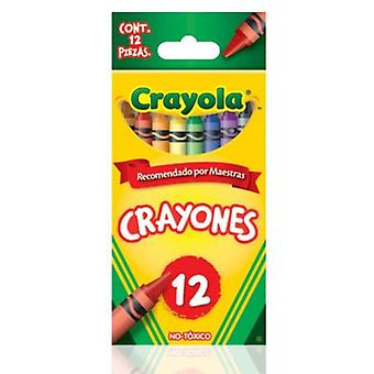 Crayola 12 Crayola Waxes (Babies and Children , Toys , School Zone)