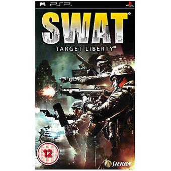 SWAT Target Liberty (PSP) - New