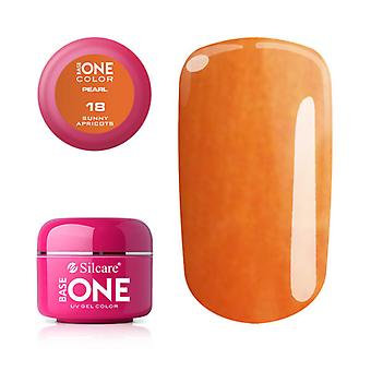 Base one-Pearl-Sunny apricots 5g UV gel