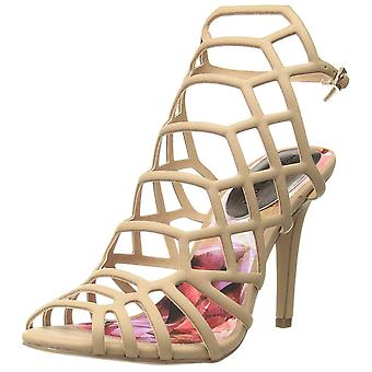 Madden Girl Womens Direct Leather Peep Toe Bridal Ankle Strap Sandals