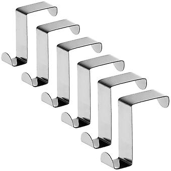 Tatkraft, Seger - Reversible Door and Cabinet Hooks, 6-pack