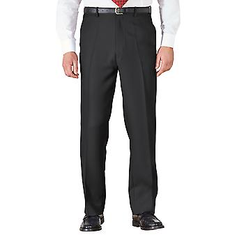 Chums Mens HIGH-RISE Trousers Poly Twill Pants With Stretch Waist