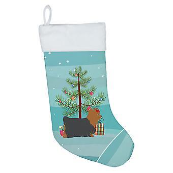 Yorkshire Terrier Yorkie Merry Christmas Tree Christmas Stocking