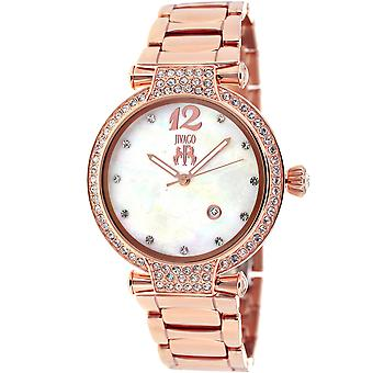 Jivago Women's Bijoux White MOP Dial Watch - JV2218