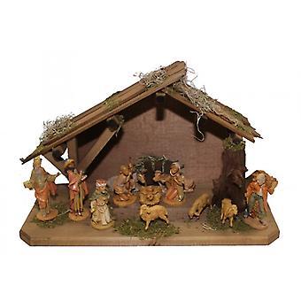 Crib RAPHAEL Wooden Crib Christmas Crib Christmas Nativity Scene L