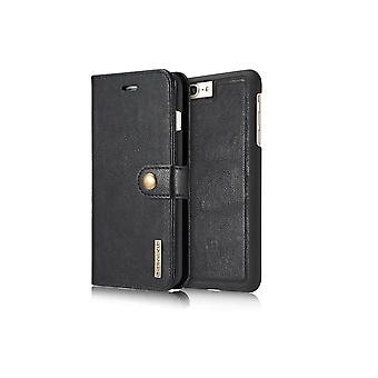 Case For IPhone 8 Plus/7 Plus Black Wallet With Magnet Shell