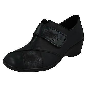 Ladies Rieker Small Heeled Shoe 47152