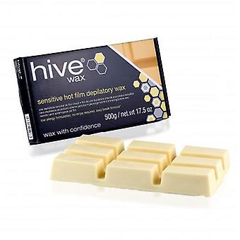 Hive sensitive hot film wax 500g - block
