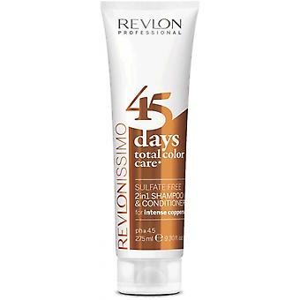 Color Care 45 Days Shampoo and Intense Coppers Care - Cuivr e Color