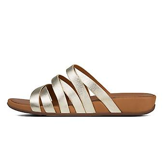 FitFlop Lumy Leather Slide Women's Sandals
