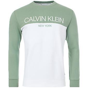 Calvin Klein Colour Block Logo Sweatshirt