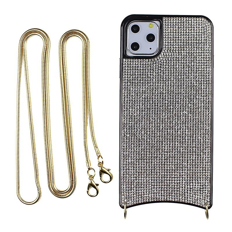 CaseGate phone chain for Apple iPhone 11 Pro phone chain necklace case cover - made of flexible TPU silicone
