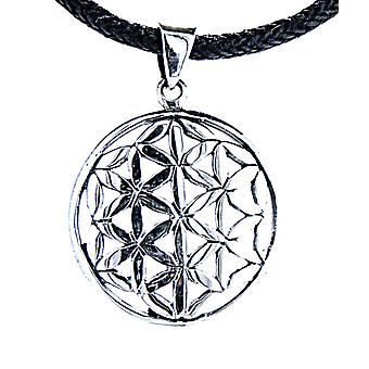 Pendant 96 a flower of life - silver