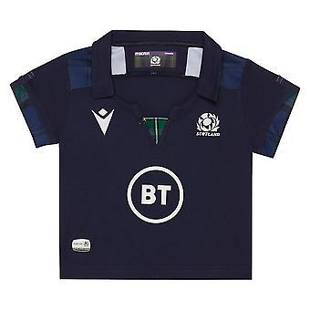 Macron Skotsko Rugby Baby Domácí Replika Košile