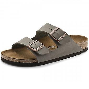Birkenstock Arizona Birko-Flor Stone Mule Sandals