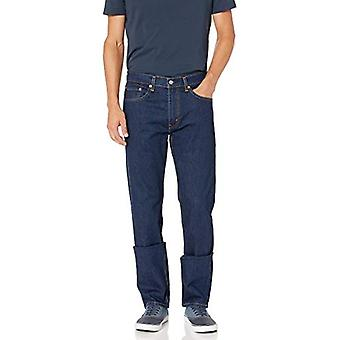 Levi's Men's 505 Regular Fit-Jeans, Poppy Rinse - Stretch, 42W x 30L