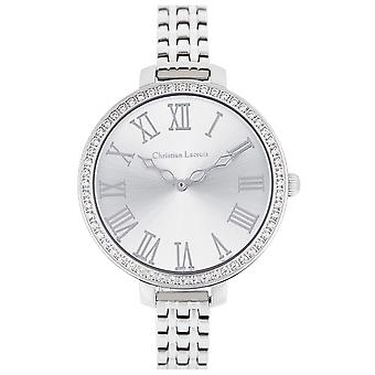 Christian lacroix Quartz Analog Women's Watch with CLWE34 Stainless Steel Bracelet