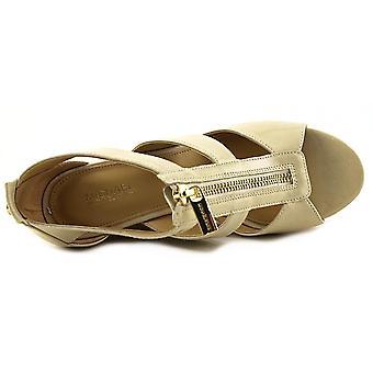 Michael Michael Kors kvinners Damita stoff åpen tå Casual plattform sandaler