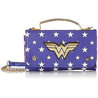Bioworld Merchandising Mini Sac Main Dc Comics Wonder Woman - Blue Woman Day Pochette (Bleu) 4x11x18 سم (W x H L)