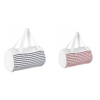 SOLS Sunset Striped Jersey Duffle Bag