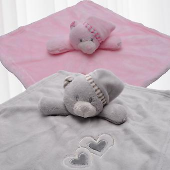 cuddle cloth baby bear soft cuddle cloth snuggly toy