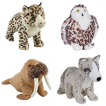 Animal Instincts Snow Mates Plush Dog Toy