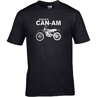 Enduro Can-Am Classic - Motorcykel Motorcykel Biker - DTG Tryckt T-shirt