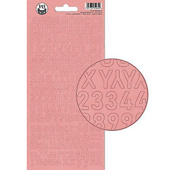 Piatek13 - Alphabet sticker sheet Till we meet again 01 P13-TIL-14 10.5x23cm