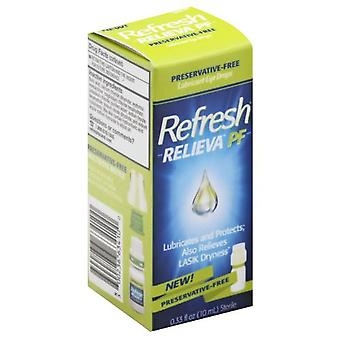 Refresh relieva pf lubricant eye drops, 0.33 oz