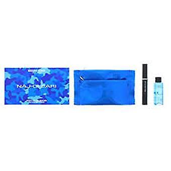 Naj Oleari Gift Set 15ml Sporty Black Mascara + 50ml Makeup Removed + Pouch