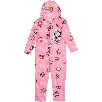 Girls HS2100 Disney Frozen Fleece Sleepsuits / O bucată pijamale