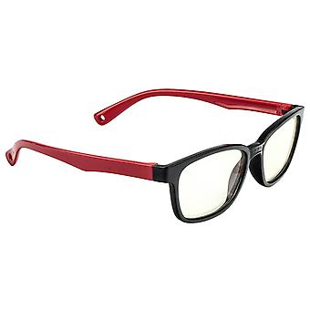 Anti Blue Light Glasses for Kids - Black and Red
