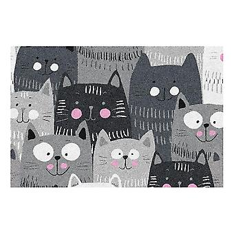 Kids Rug - Cats - Washable - 50 x 75 cm