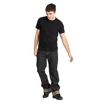 Chet Rock Navy Loose Larry Jeans 34 L