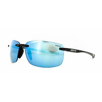 Revo Descend N RE4059 01BL Black/Blue Water Sunglasses